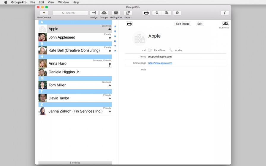 GroupsPro 3.2.1 Mac 破解版 – 联系人和邮件管理-麦氪派